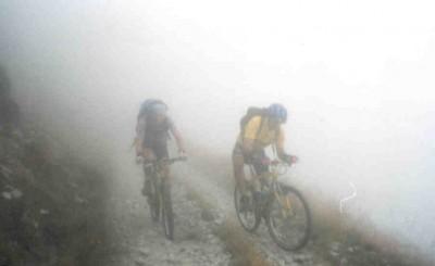 """..nella nebbia sulla """"Strada dei Cannoni"""""""