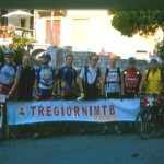Il gruppo alla partenza