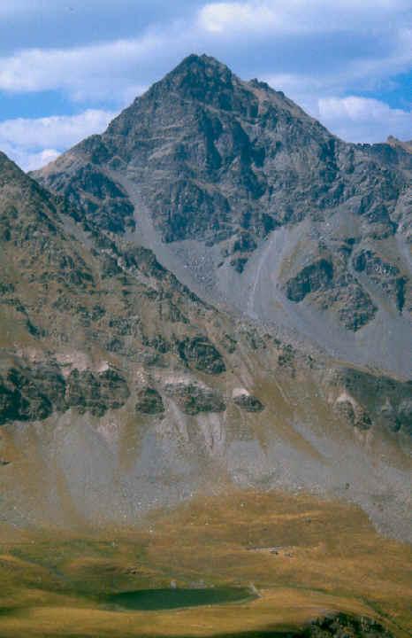 Monte Roletta e lago Djouan