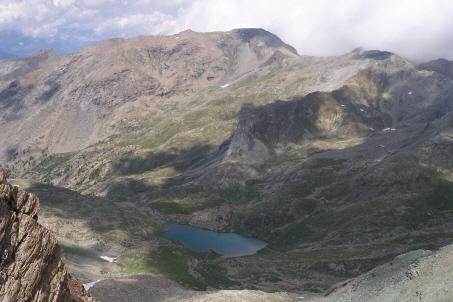 Lago Margheron, nel vallone di Savoney
