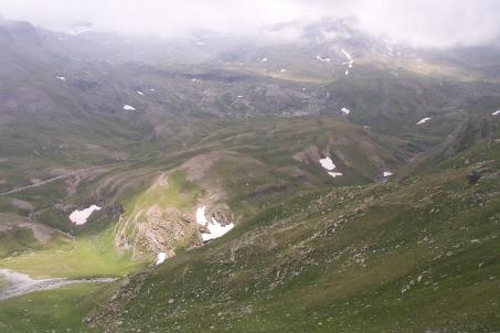 Uno sguardo verso valle