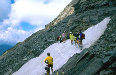 La costa ovest del Mont Glacier, 3186m