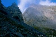 Il Monte Delà (3139m) sovrasta il Col Fussì