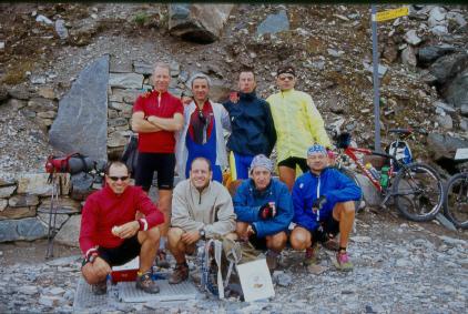 Gruppo sul Bettaforca