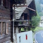 Valle di Gressonay, tipica casa Rascard