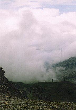 Il colle di Bettaforca 2672 m