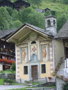 La chiesa di Pedemonte