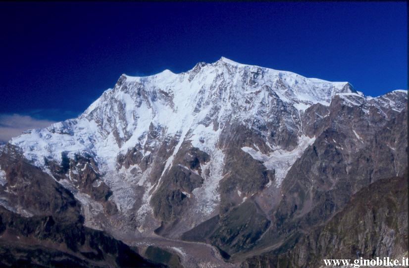 Monte Rosa dal passo di Monte Moro