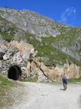 L'ingresso del tunnel diretto per Marjelensee