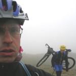 Freddo, nebbia e fatica