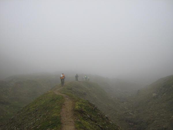 Valle del Corno, la morena centrale