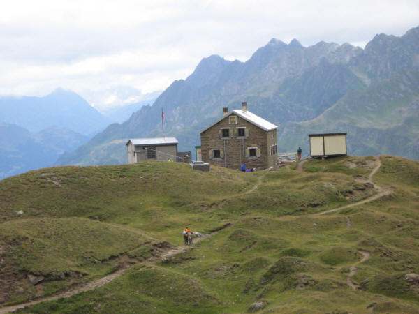 La capanna Corno Gries