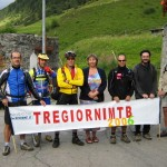 Foto di gruppo a Bedretto