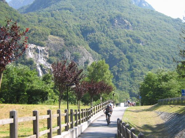 Val Bregaglia (So) - Le cascate dell'Acqua Fraggia