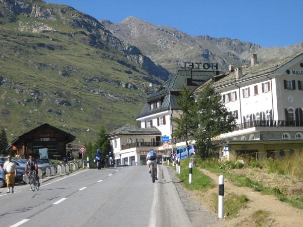 Passo Maloja 1815m
