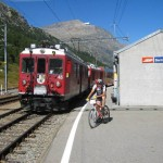 Valle Bernina, stazione Bernina Suot