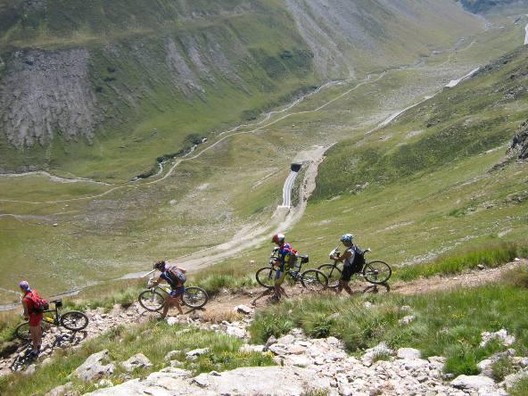 Valle della Forcola, discesa dalla Stretta