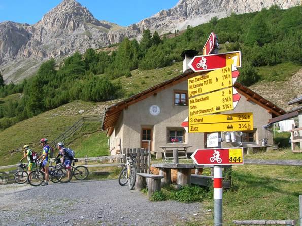 Alpe Chaschauna 2010m