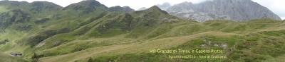 Panoramica della Val Grande di Timau